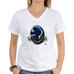 Earth Day Get Well Earth Women's V-Neck T-Shirt