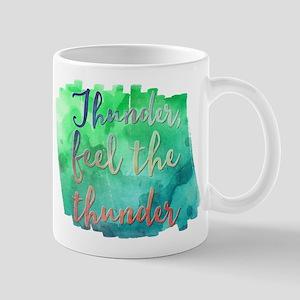 Thunder, feel the thunder Mugs