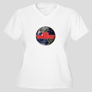 No Vacancy - Women's Plus Size V-Neck T-Shirt