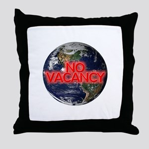 No Vacancy - Throw Pillow