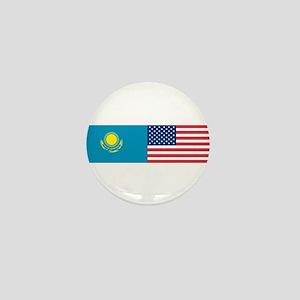 Kazakh and American Mini Button