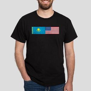 Kazakh and American Dark T-Shirt