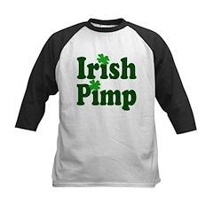 Irish Pimp Kids Baseball Jersey