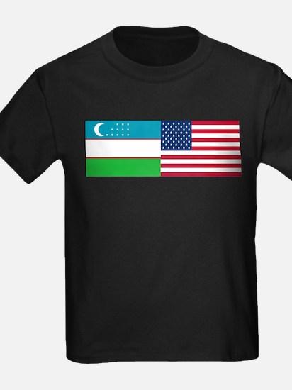 Uzbek and American T