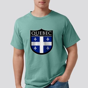 Quebec Flag Patch T-Shirt
