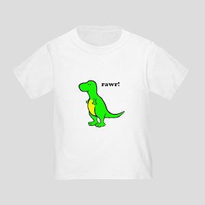 Cute Dinosaur Toddler T-Shirt