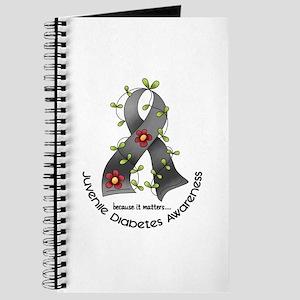 Flower Ribbon JUVENILE DIABETES Journal