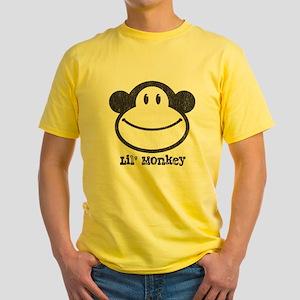 Lil' Monkey Yellow T-Shirt