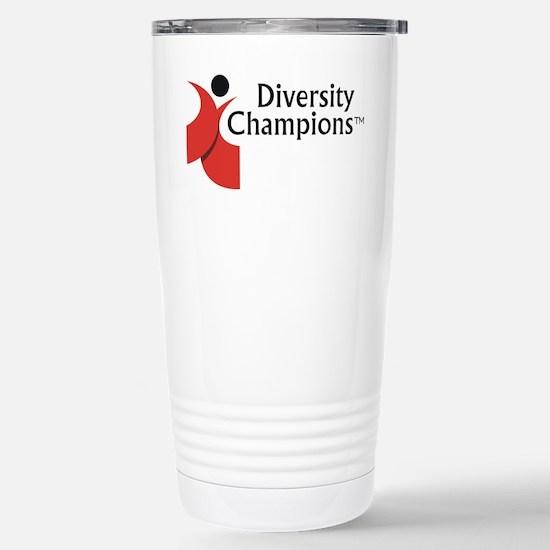 Diversity Champions Stainless Steel Travel Mug