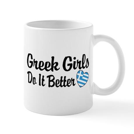 Greek Girls Do it Better Mug