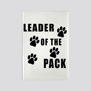 Leader of the Pack Rectangle Magnet