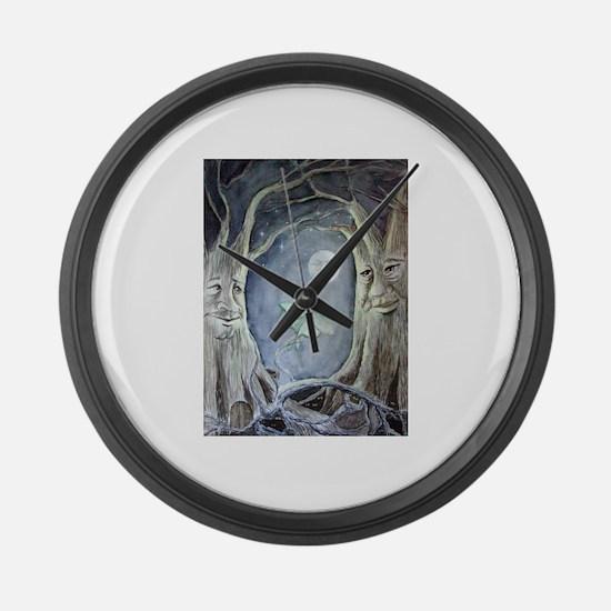 Unique Fairy Large Wall Clock