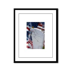 The Unkown Soldier Framed Panel Print