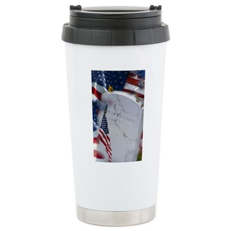 The Unkown Soldier Stainless Steel Travel Mug