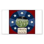 Memorial Day Rectangle Sticker