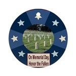 Memorial Day Ornament (Round)
