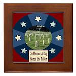 Memorial Day Framed Tile
