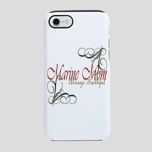 Swirl Marine Mom Iphone 8/7 Tough Case