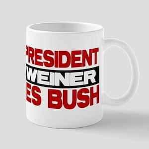 My Weiner Likes Bush Mug
