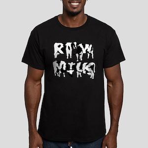 Raw Milk Cows T-Shirt (green)