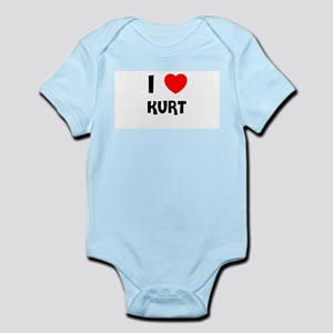 I LOVE KURT Infant Creeper