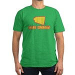SNL More Cowbell Men's Fitted T-Shirt (dark)