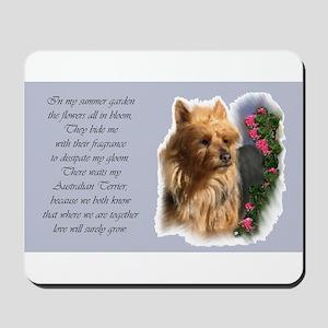 Australian Terrier Art Mousepad