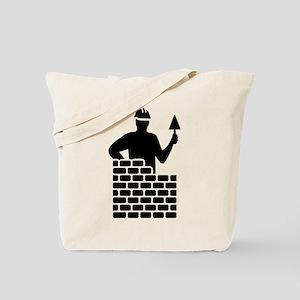Brick layer Tote Bag