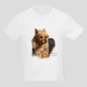 Australian Terrier Art Kids Light T-Shirt