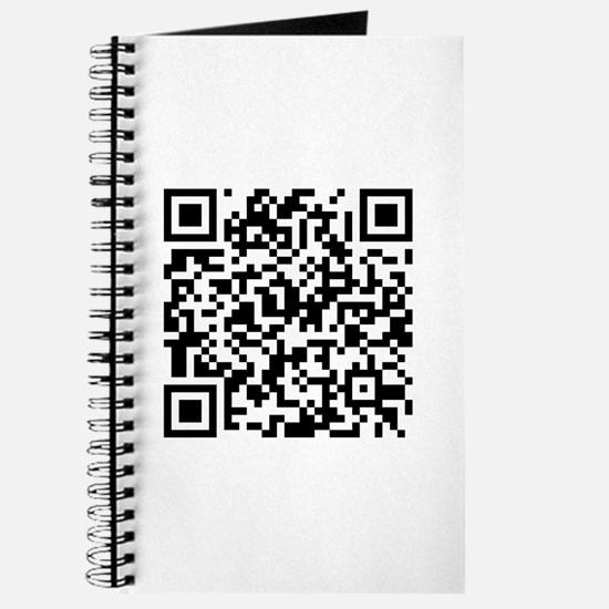 QR code If you can read this you're a geek Journal