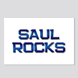 saul rocks Postcards (Package of 8)