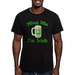 Mug Me I'm Irish Men's Fitted T-Shirt (dark)