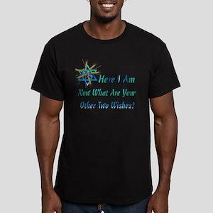 Home For Hanukkah Men's Fitted T-Shirt (dark)
