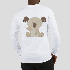 I Love You Koala Long Sleeve T-Shirt