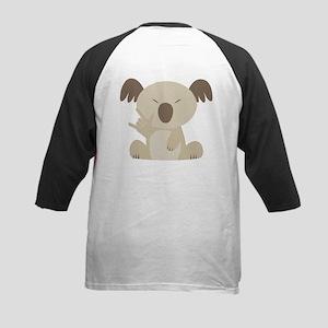 I Love You Koala Kids Baseball Jersey
