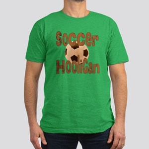 Soccer Hooligan Men's Fitted T-Shirt (dark)