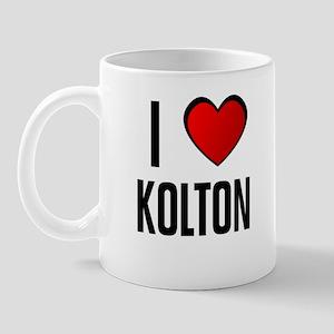 I LOVE KOLTON Mug