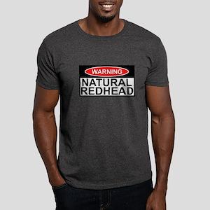 Irish redhead warning sign Dark T-Shirt