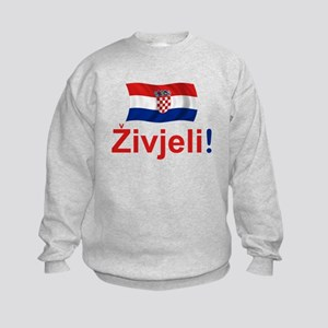 Croatian Zivjeli Kids Sweatshirt