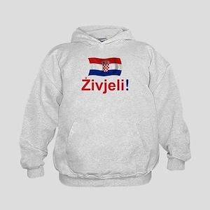 Croatian Zivjeli Kids Hoodie