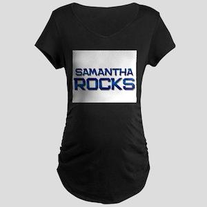 samantha rocks Maternity Dark T-Shirt