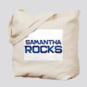 samantha rocks Tote Bag