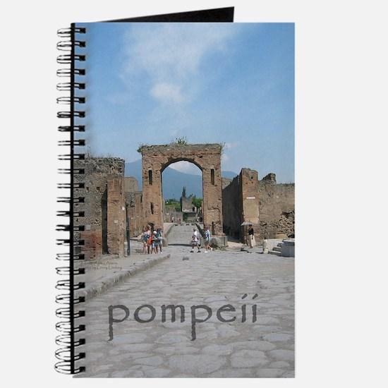 Arch behind Forum/Pompeii Journal