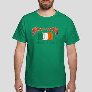 Irish Nollaig Shona 2 Dark T-Shirt