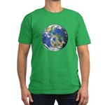 Peace On Earth Men's Fitted T-Shirt (dark)