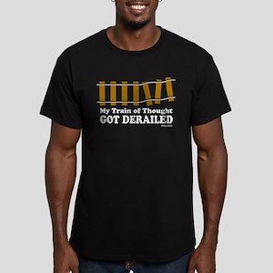 Derailed Men's Fitted T-Shirt (dark)