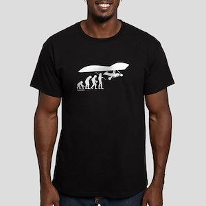 Hang Glider Evolution Men's Fitted T-Shirt (dark)