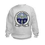 USS McMORRIS Kids Sweatshirt