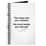 The more sins you confess... Journal