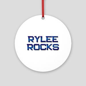 rylee rocks Ornament (Round)